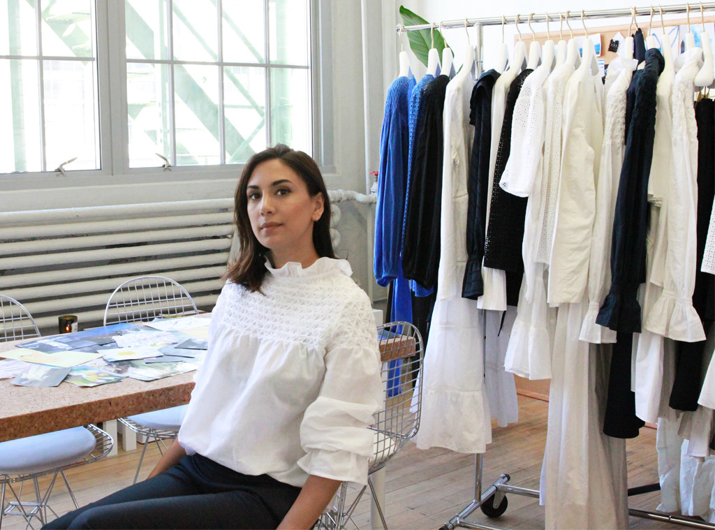 E! Style x Merlette Trendsetters at Work with designer Marina Cortbawi