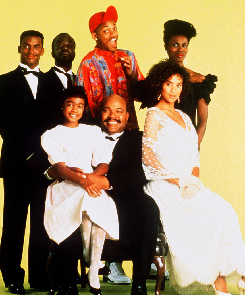 Fresh Prince of Bel Air Cast, Janet Hubert, Karyn Parsons, Will Smith, James Avery, Tatyana Ali