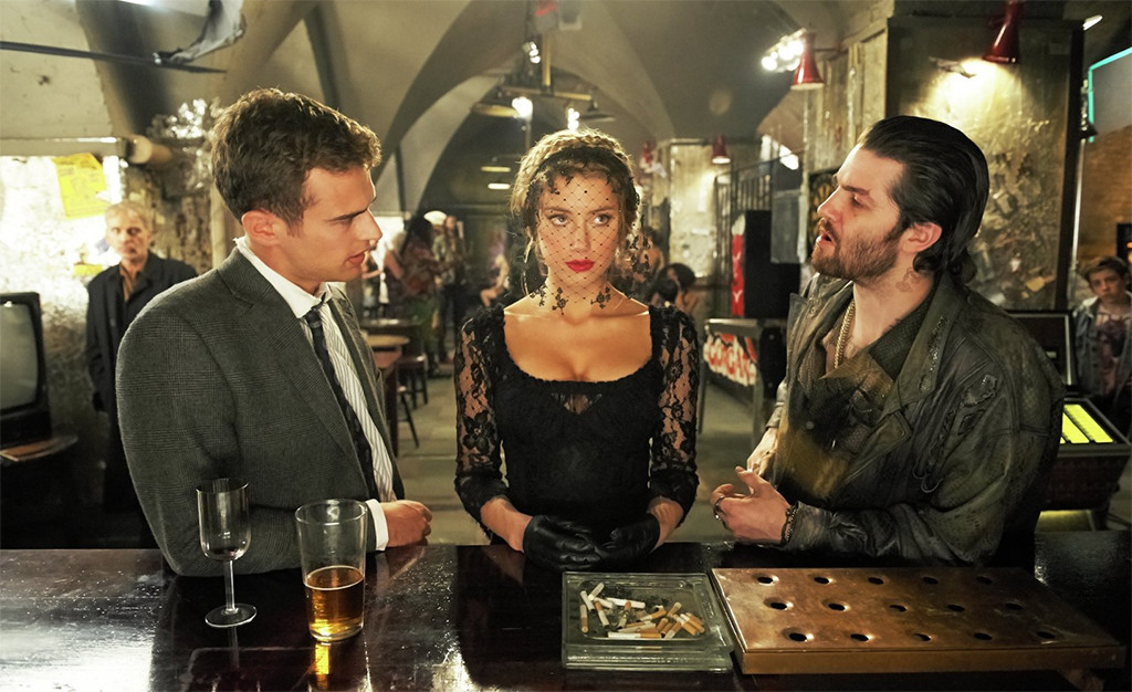 Amber Heard, Jim Sturgess, Theo James, London Fields