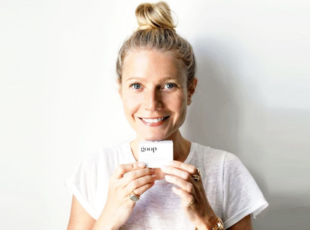 Gwyneth Paltrow, goop, Celebs with Green Brands
