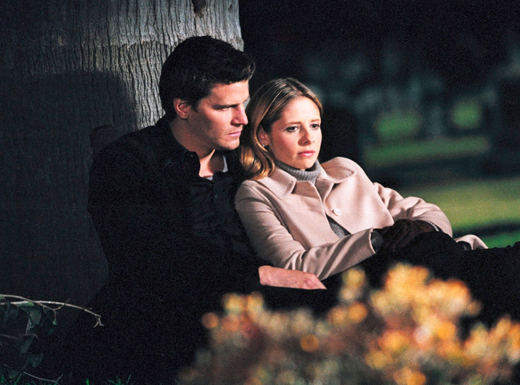 Buffy the Vampire Slayer, Sarah Michelle Gellar, David Boreanaz