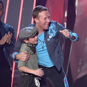 Chris Martin, 2017 iHeartRadio Music Awards