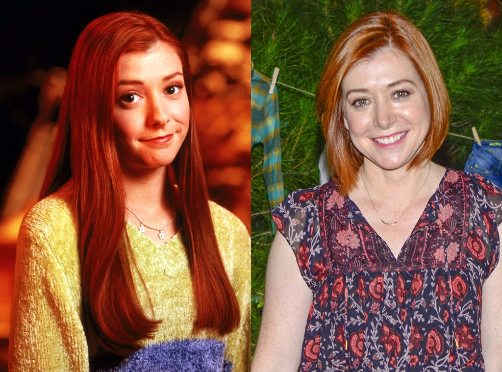 Buffy the Vampire Slayer Then and Now, Alyson Hannigan