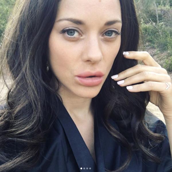 Marion Cotillard, Instagram