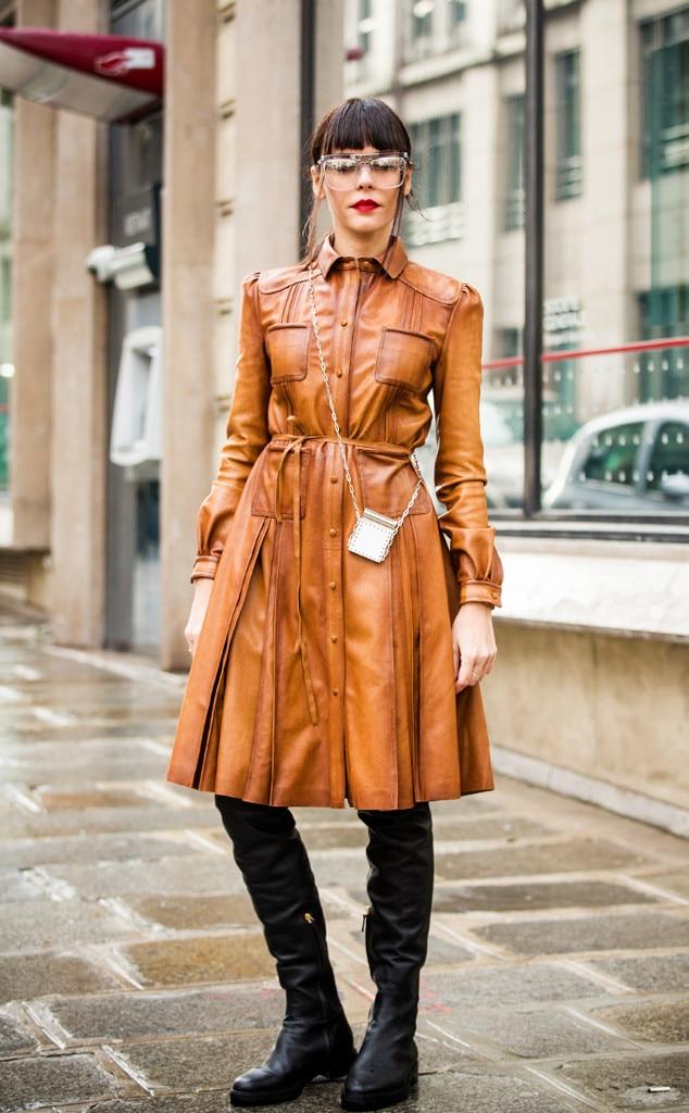 Evangelie Smyrniotaki From Best Street Style From Paris