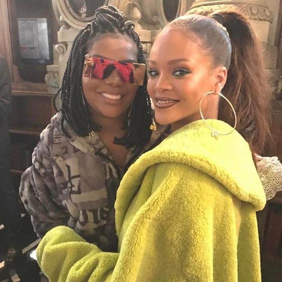 Ludmilla, Rihanna