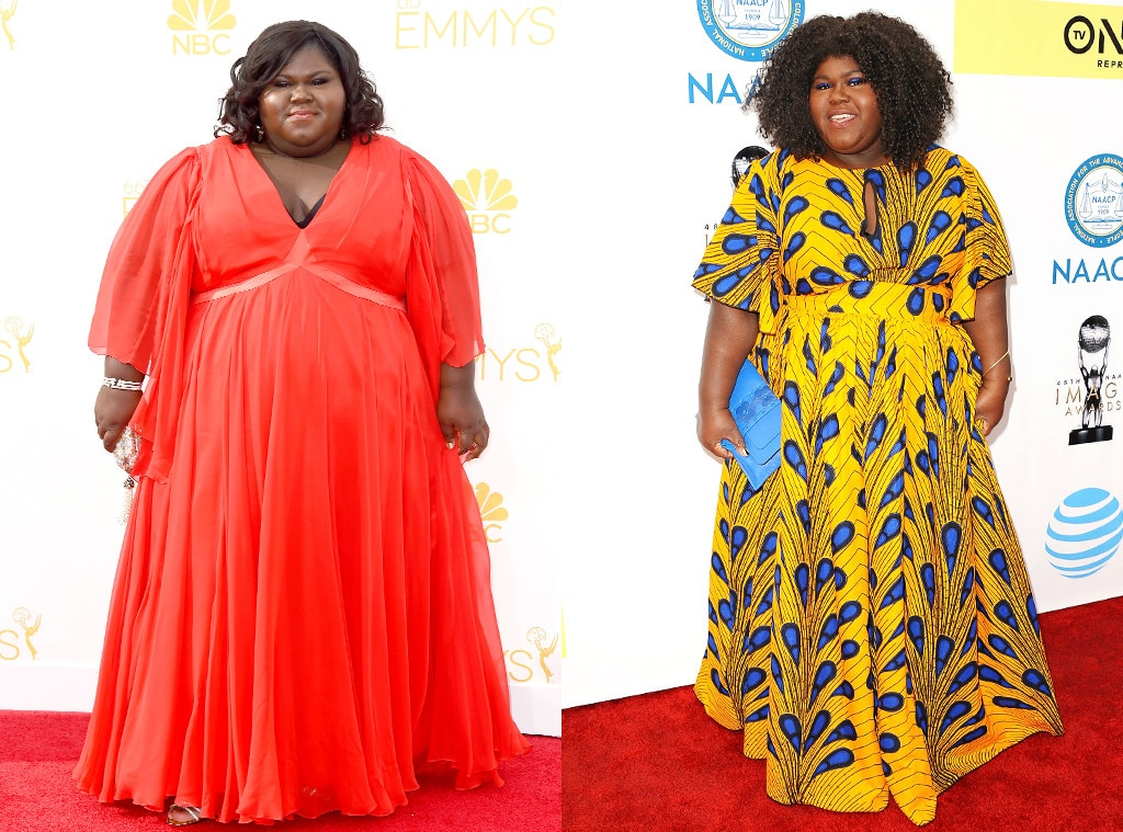Gabourey Sidibe From Before And After Celebs Who Have Admitted To
