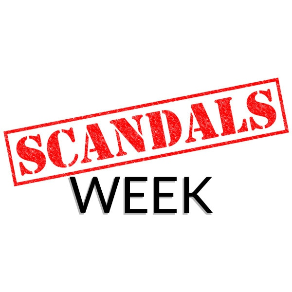 Scandals Week, Badge