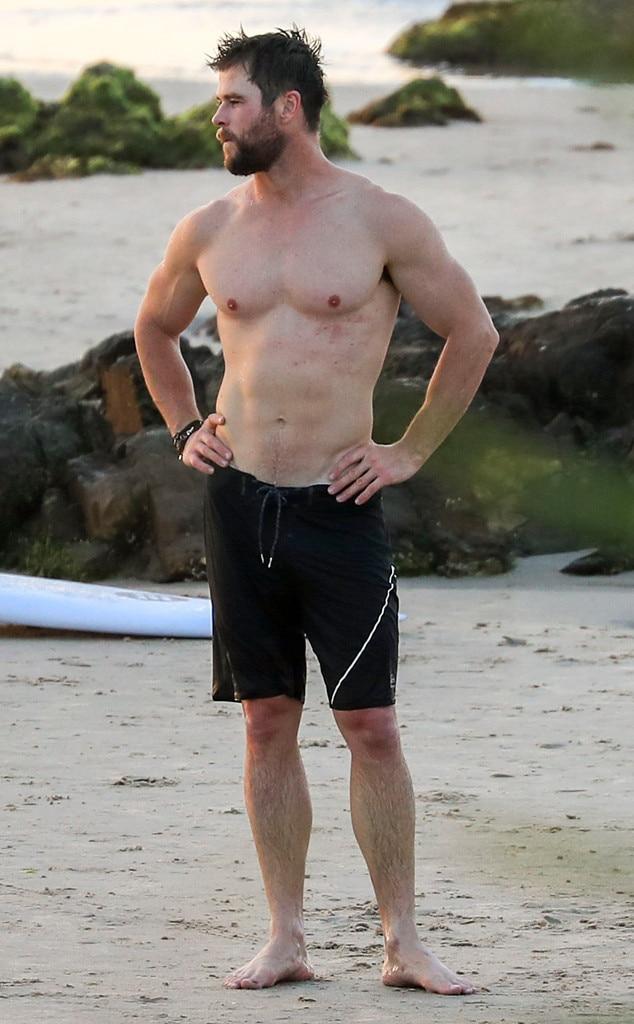 Hot Boys On Beach