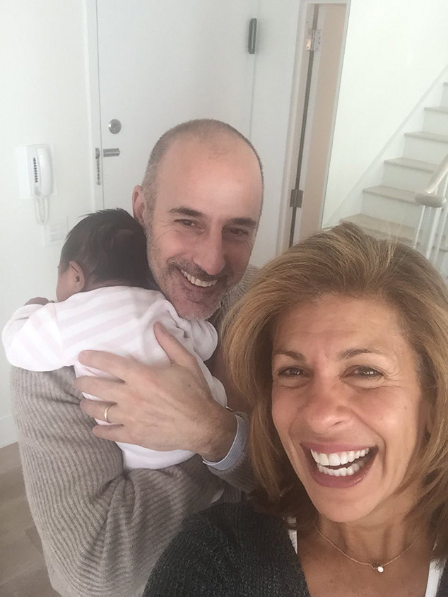 Hoda Kotb, Matt Lauer, Haley Joy Kotb