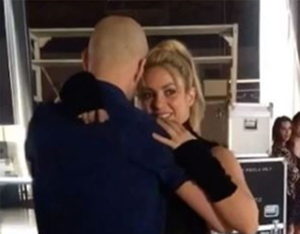 Shakira Practices Sexy Bachata Dance Moves For New Music Video With Prince Royce  E News-2606