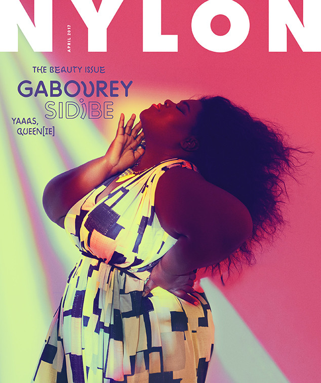 Gabourey Sidibe, Nylon, April 2017