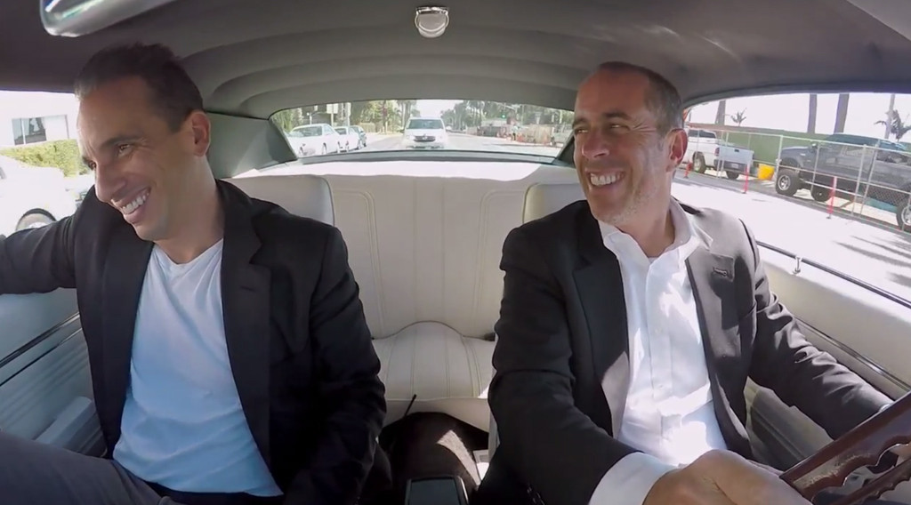 Jerry Seinfeld, Sebastian Maniscalco, Comedians in Cars Getting Coffee