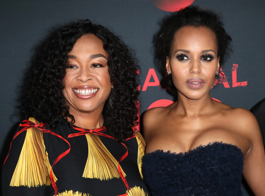Kerry Washington bids farewell to 'Scandal' --