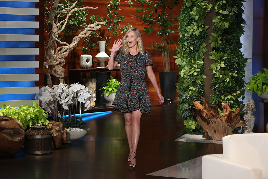 Charlize Theron, The Ellen DeGeneres Show