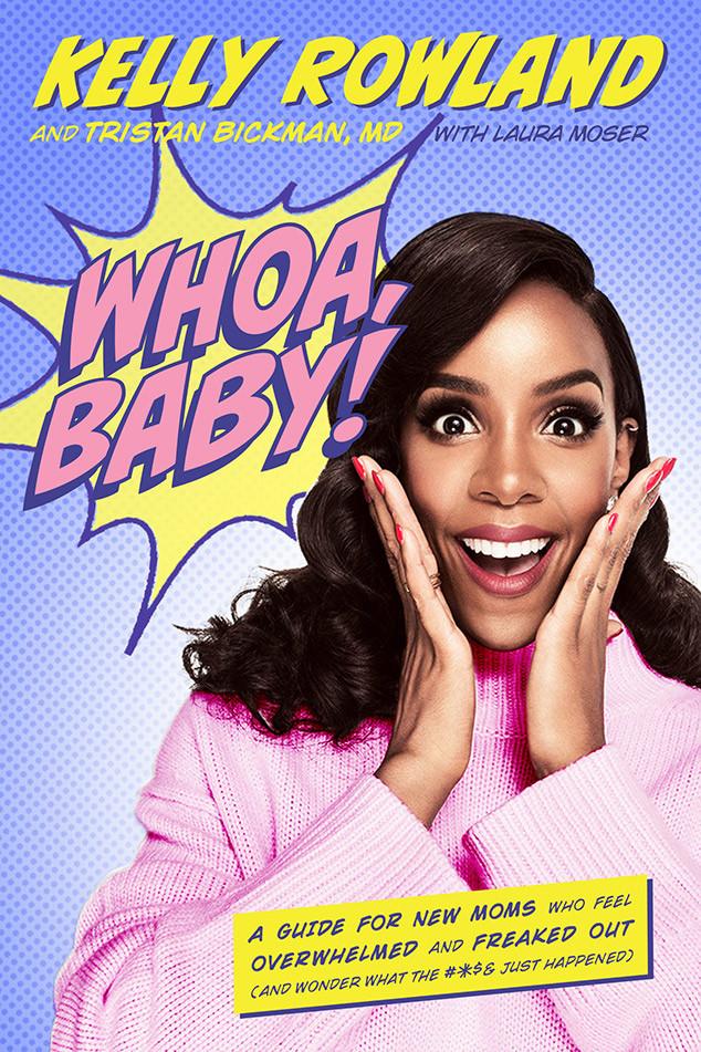 Kelly Rowland, Whoa Baby, Book Cover