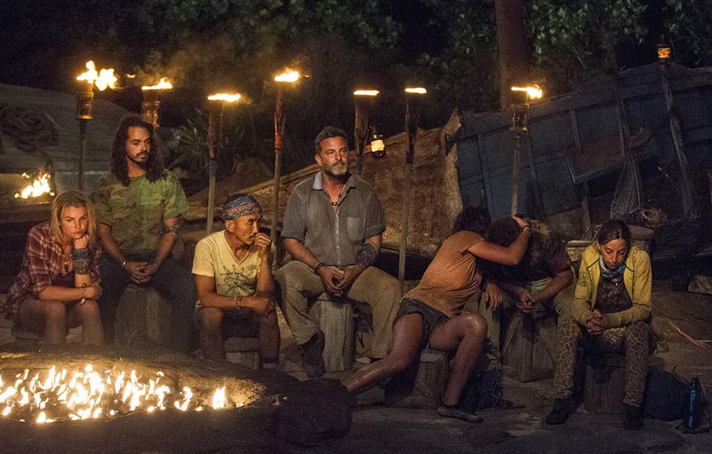 "Survivor, Andrea Boehlke, Oscar ""Ozzy"" Lusth, Tai Trang, Jeff Varner, Sarah Lacina, Zeke Smith and Debbie Wanner"