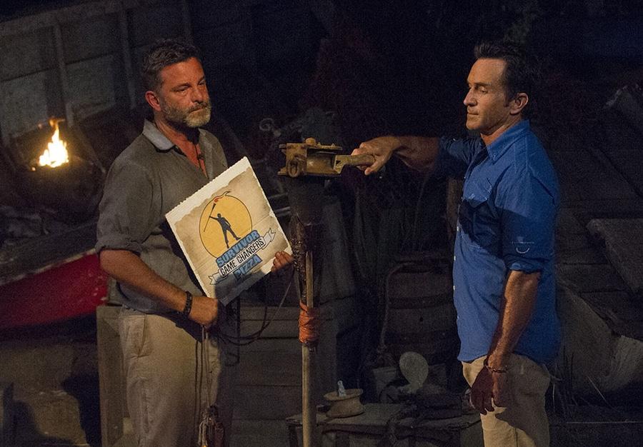 Jeff Probst, Jeff Varner, Survivor