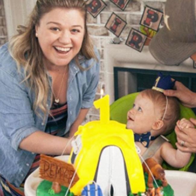 Kelly Clarkson, Remington, Birthday