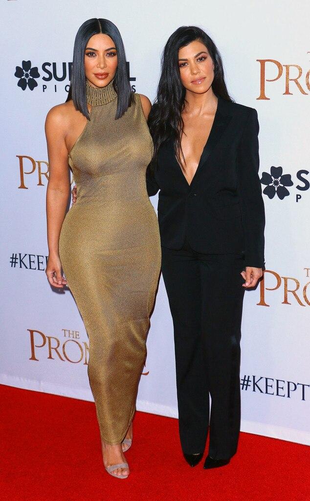 Kourtney Kardashian Red Carpet