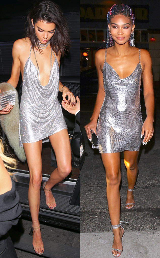 Bitch Stole My Look Kendall Jenner And Chanel Iman Strut