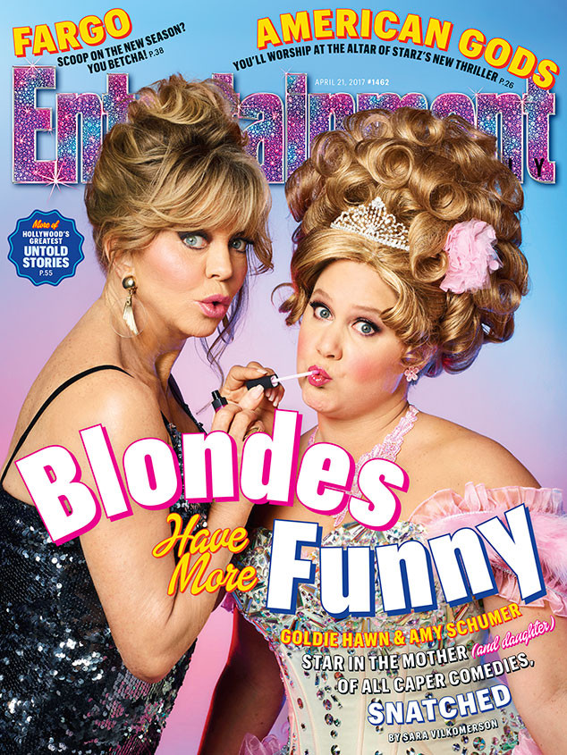 Goldie Hawn, Amy Schumer, Entertainment Weekly