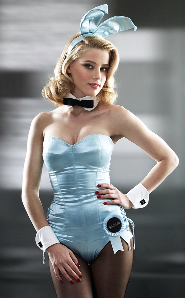 Amber Heard From On-Screen Playboy Bunnies  E News-4748