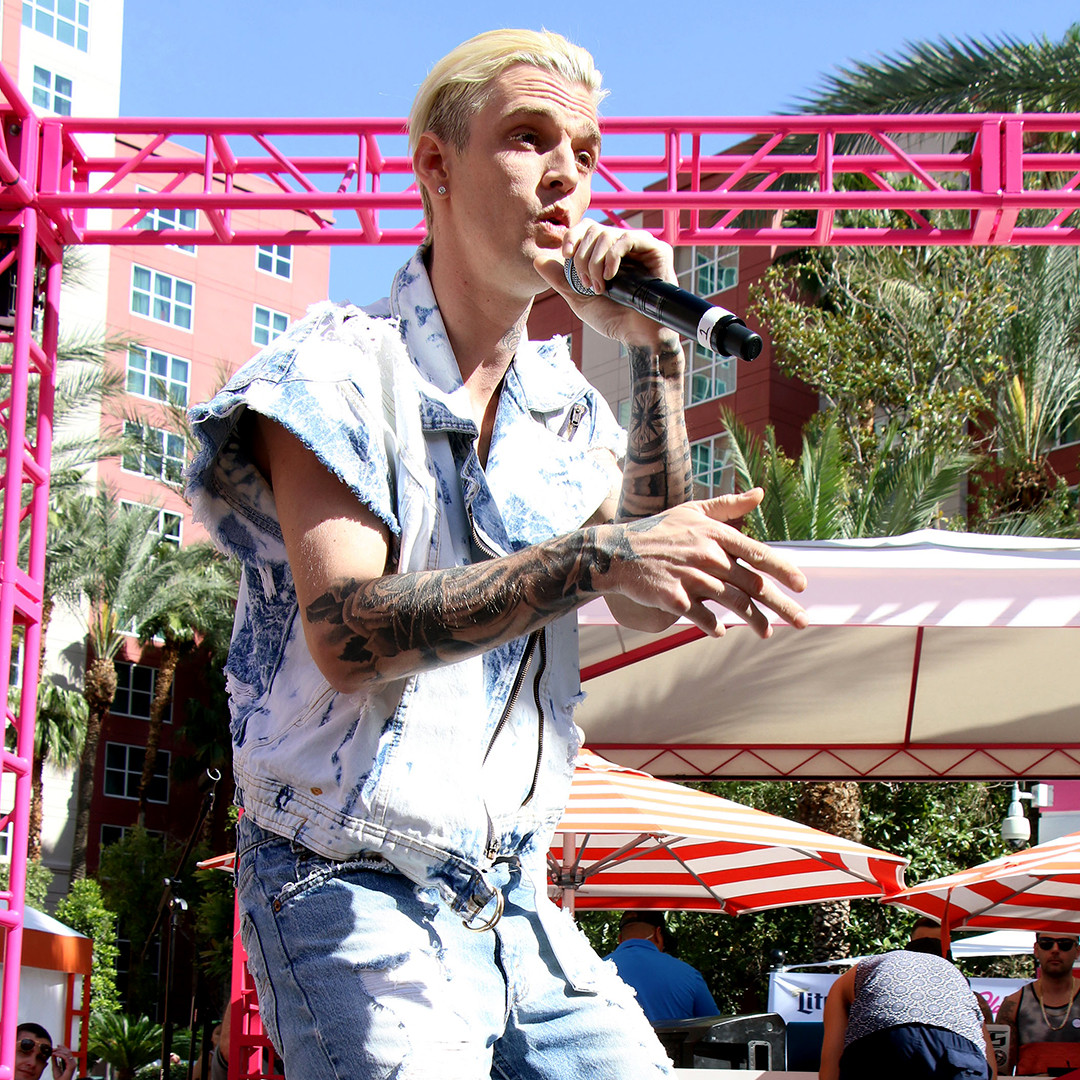 Aaron Carter, Instagram