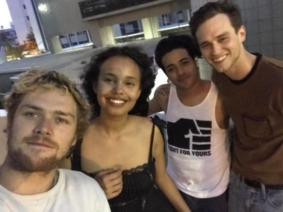 Finn Jones, Alisha Boe, Christian Navarro, Brandon Flynn, 13 Reasons Why