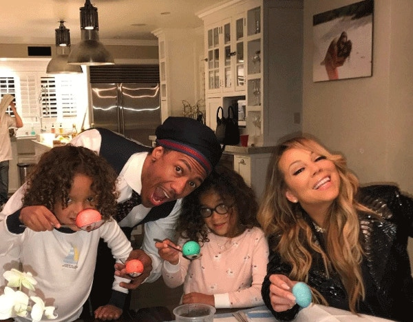 Mariah Carey And Nick Cannon Celebrate Christmas 2018 Together - 600×467