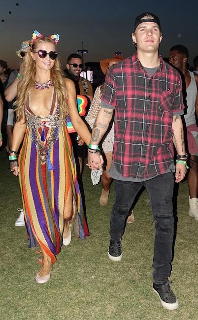 Paris Hilton, Chris Zylka, Coachella, 2017