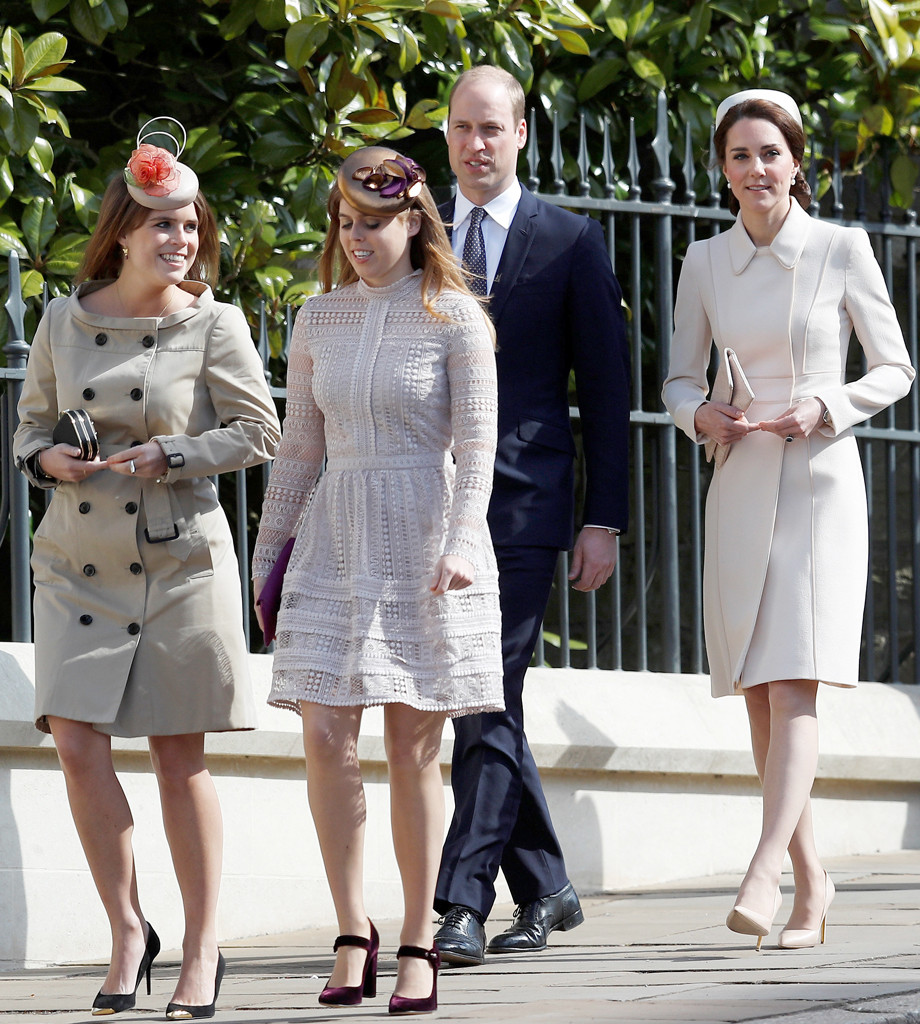 Kate Middleton, Prince William, Princess Eugenie, Princess Beatrice