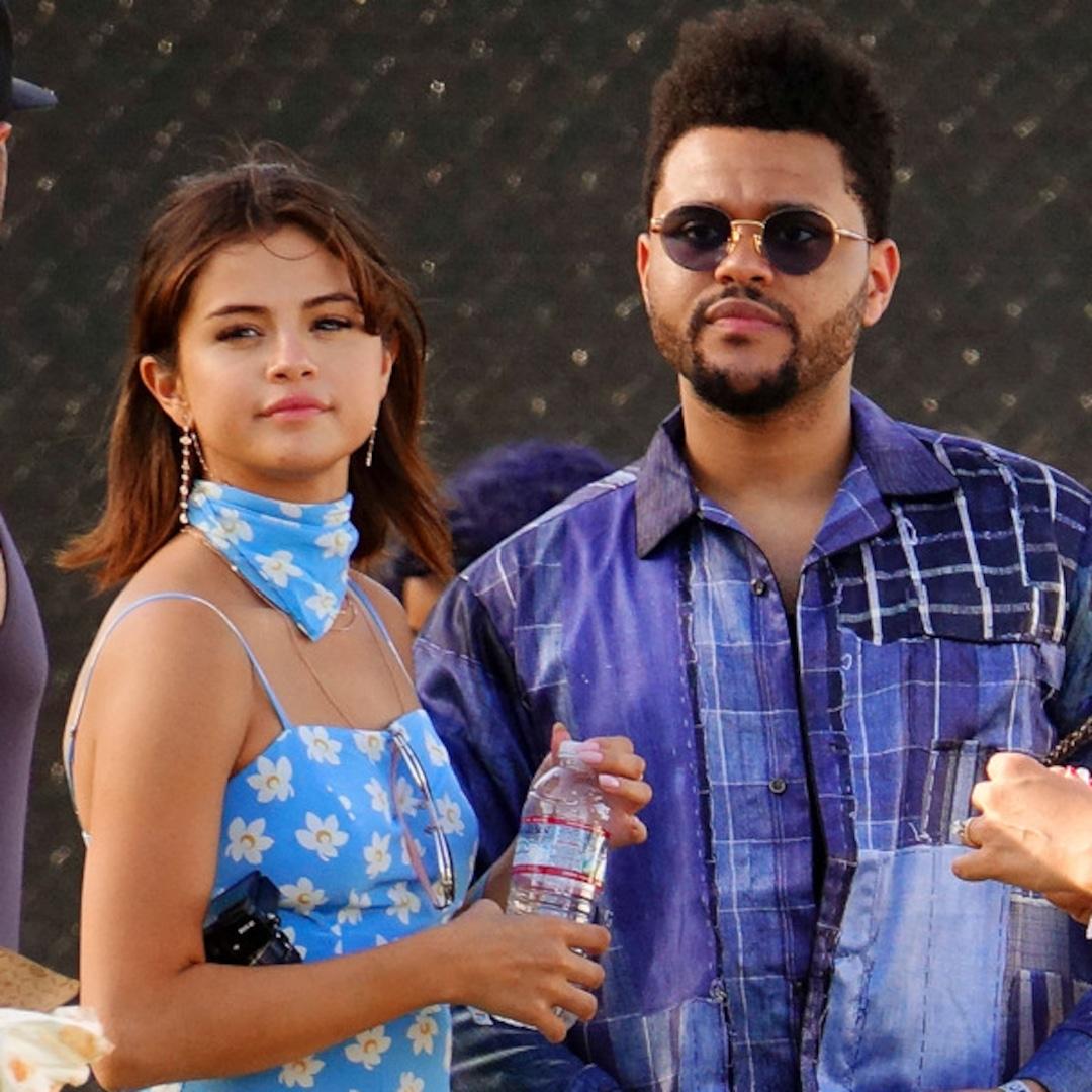 Weeknd and selena latest news