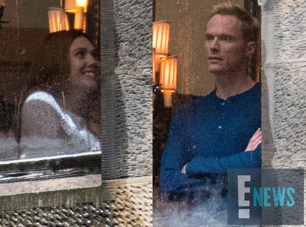 First Look Paul Bettany And Elizabeth Olsen S Characters