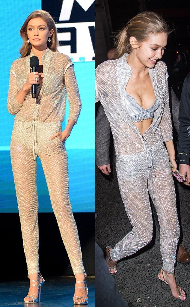 Gigi Hadid, Fashion Repeat