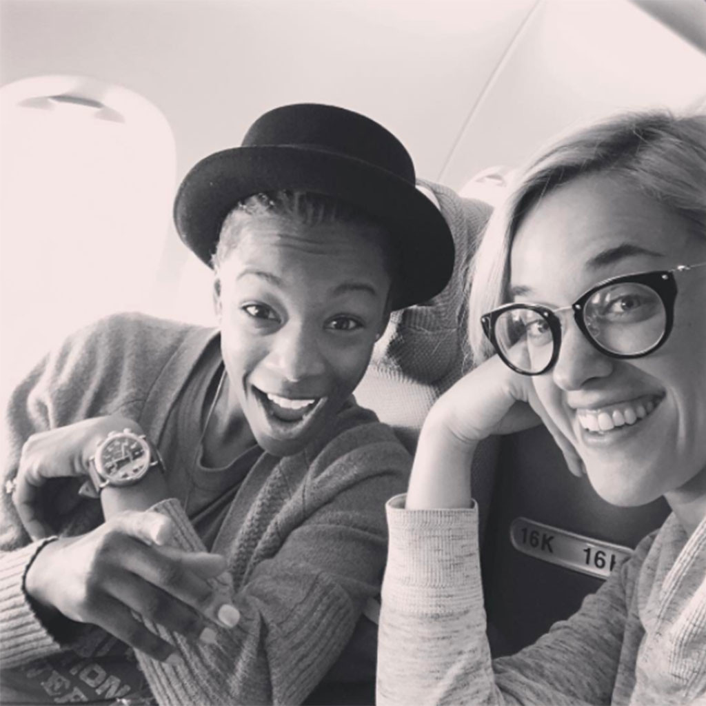 Lauren Morelli, Samira Wiley, Instagram