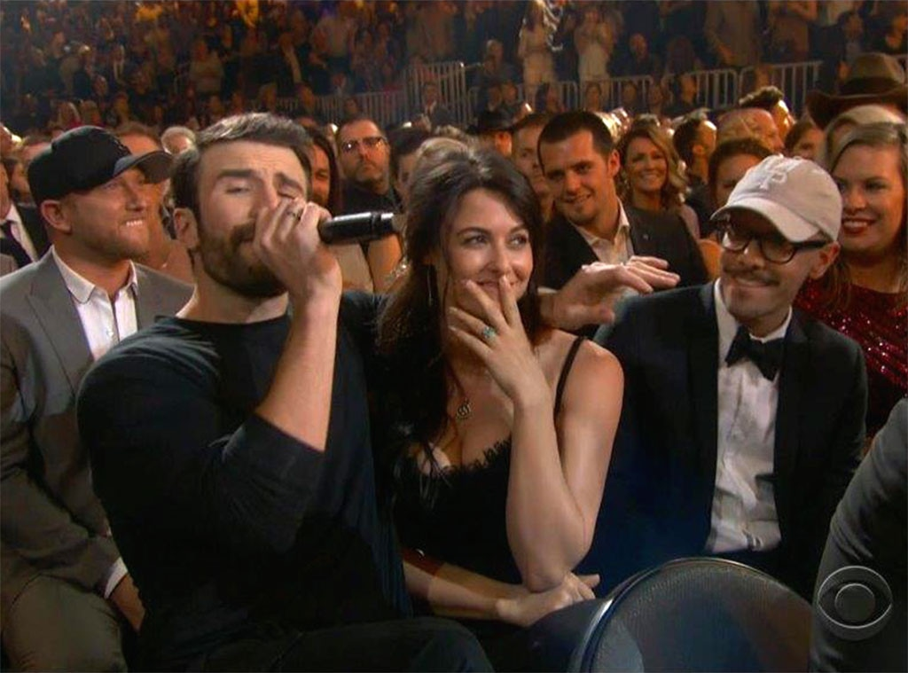 Sam Hunt, 2017 Academy of Country Music Awards, Show