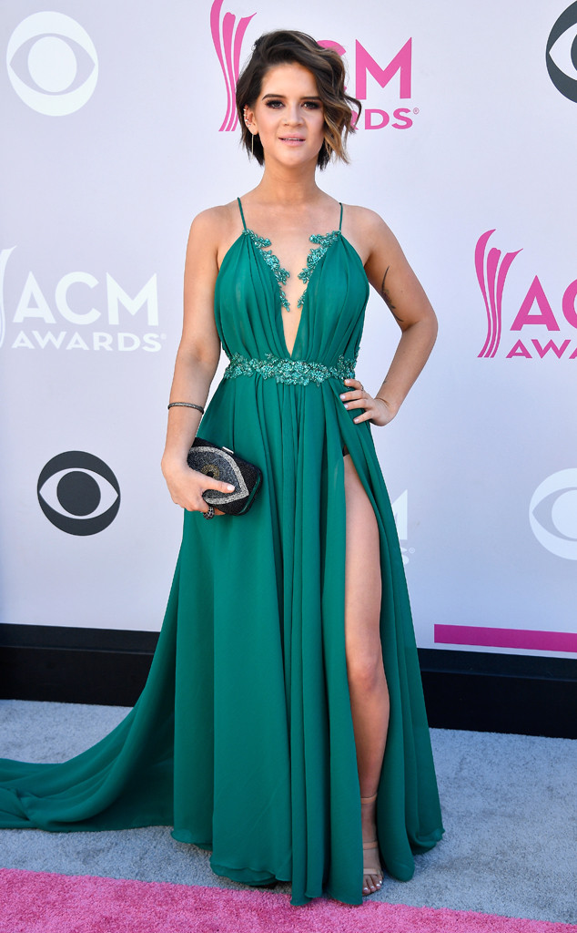 Maren Morris, 2017 ACM Awards, Arrivals