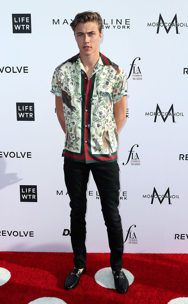 Anwar Hadid, Fashion Los Angeles Awards
