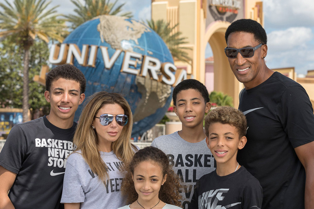 Larsa Pippen, Scottie Pippen, Family