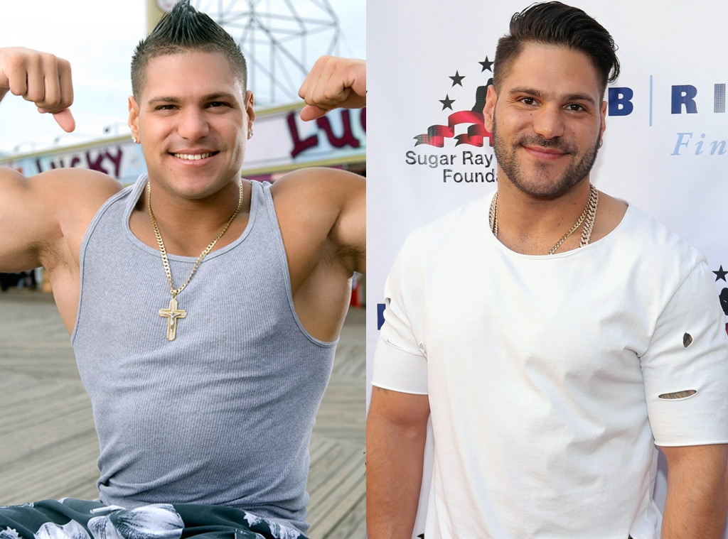 Photos from Jersey Shore Cast: Then and Now - E! Online