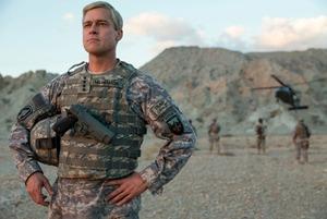 War Machine, Brad Pitt