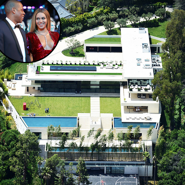 Go Inside Beyoncé and Jay-Z's $135 Million Bel Air Mansion With Four Pools, Bullet-Proof Windows and a Helipad