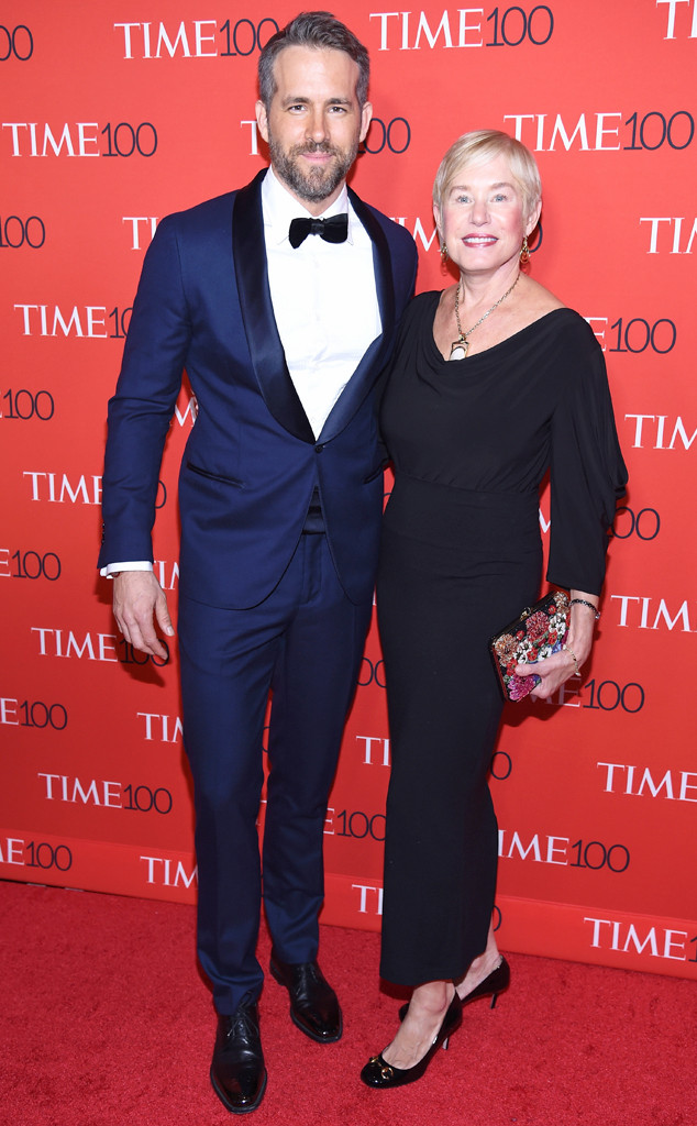 Ryan Reynolds, Tammy Reynolds, Time 100 Gala