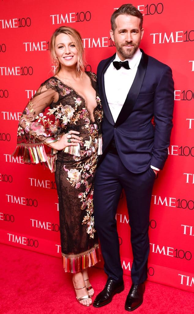 Blake Lively, Ryan Reynolds, Time 100 Gala