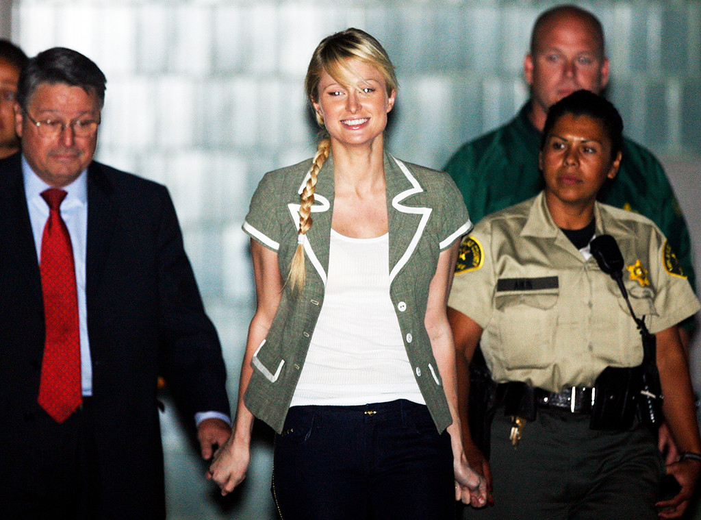 Paris Hilton Leaving Jail, 2007