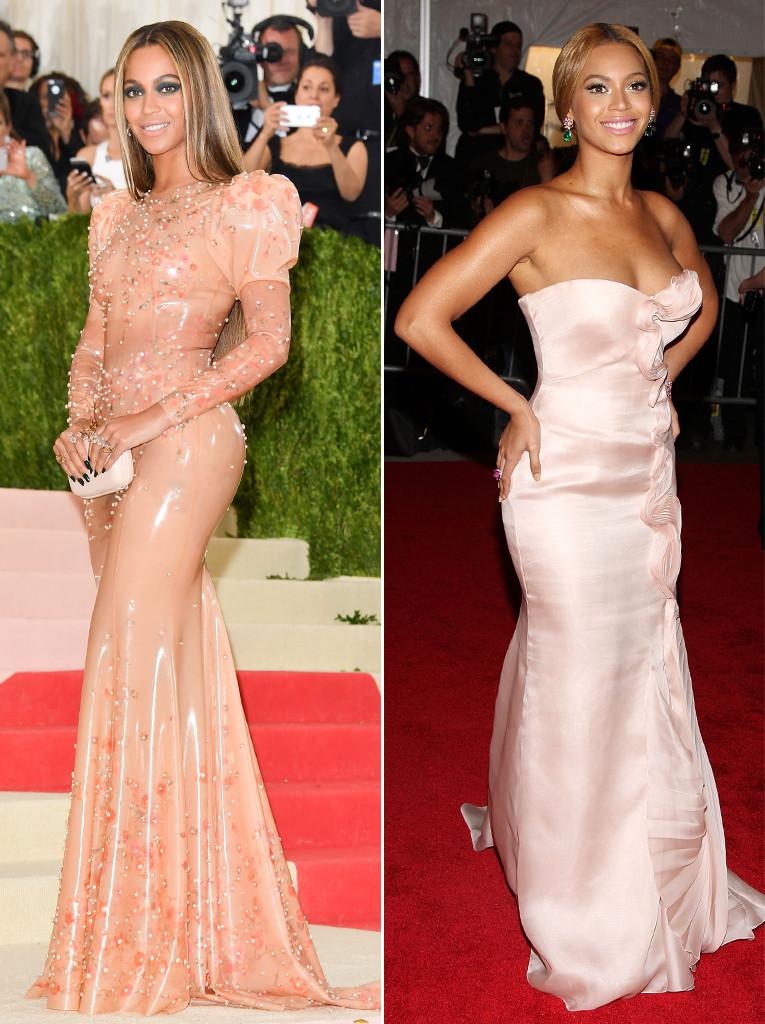 ESC: Met Gala, Beyonce, 2008/2016