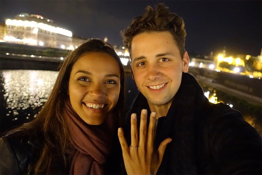 Jessica Lucas, Alex Jermasek, Engagement Ring
