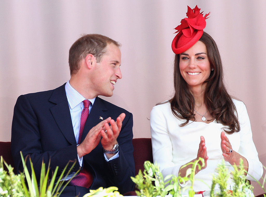 Prince William, Kate Middleton, Canada Day, 2011