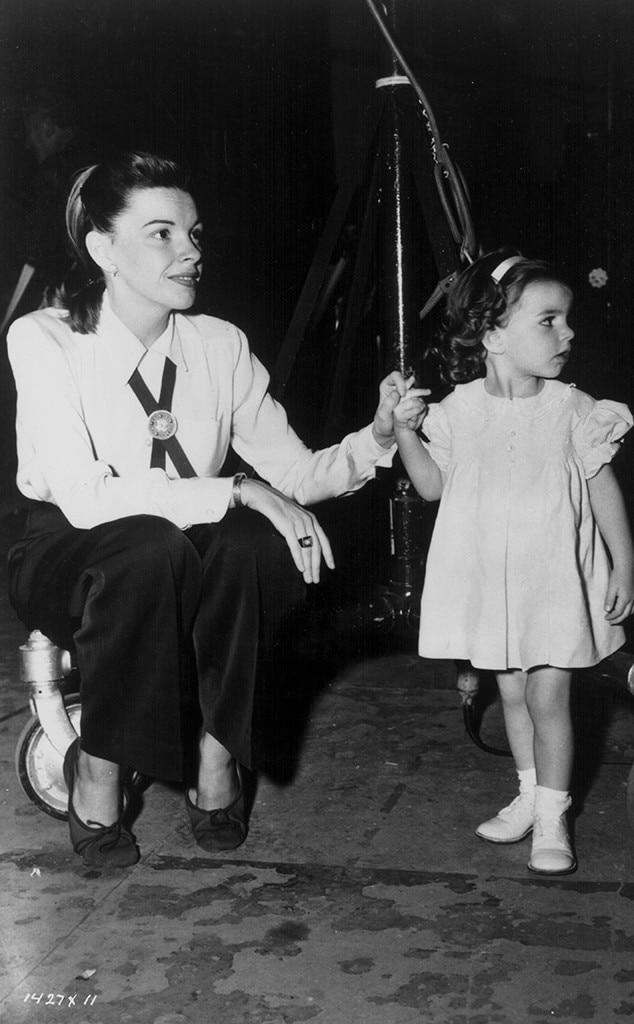 Judy Garland & Liza Minnelli from Take Your Kids to Work Day